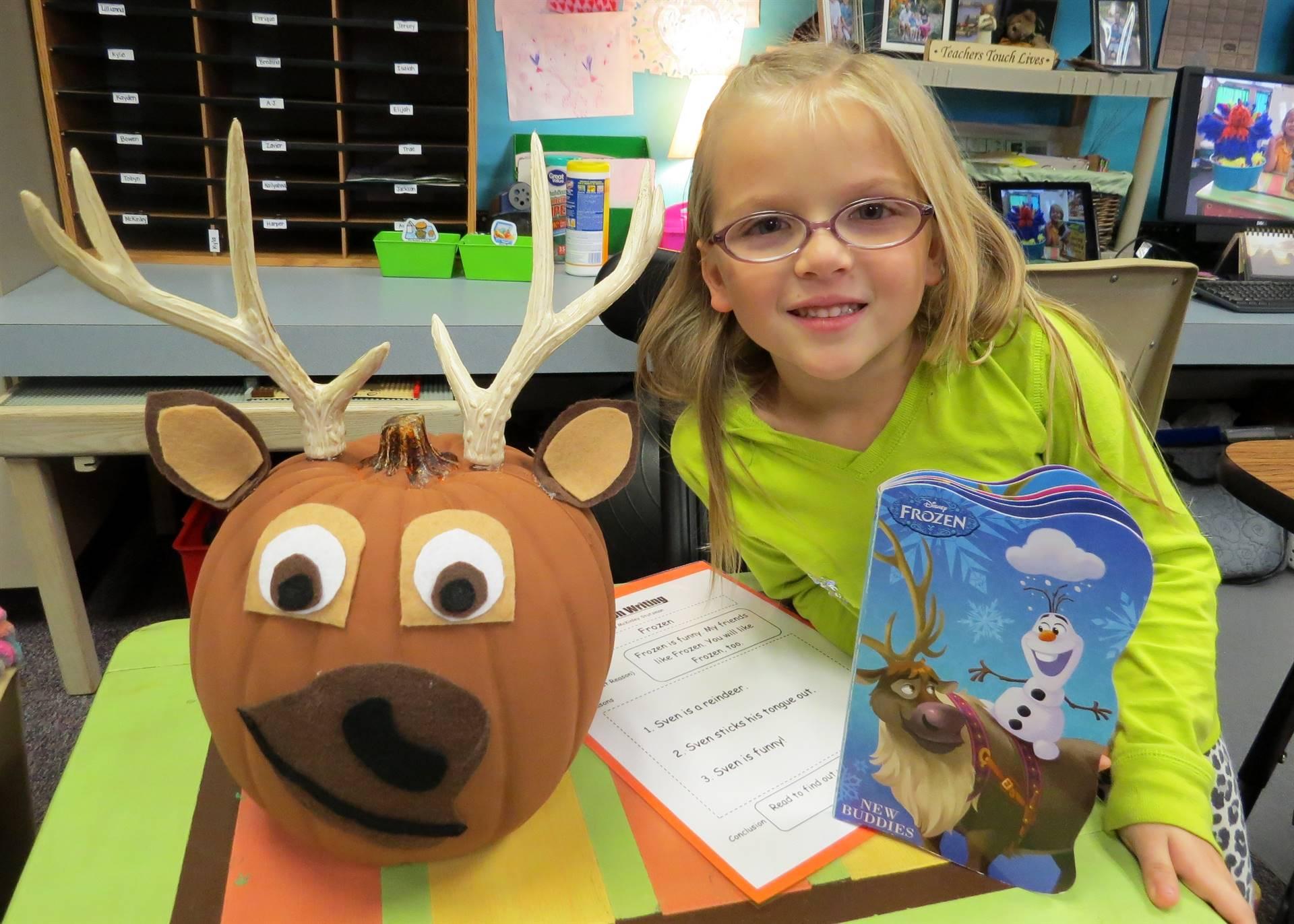 1st grade pumpkin day