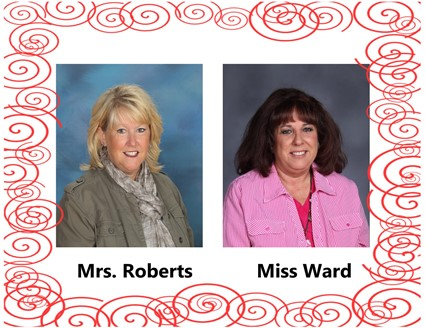Pictures of Mrs. Roberts and Miss Ward