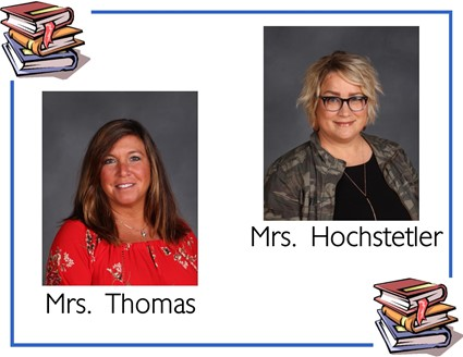 Pictures of Mrs. Thomas and Mrs. Hochstetler