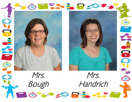 Pictures of Mrs. Bough and Mrs. Handrich