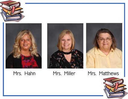 Pictures of Mrs. Hahn and Mrs. Matthews