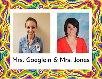 Picture of Mrs. Goeglein and Mrs. Jones