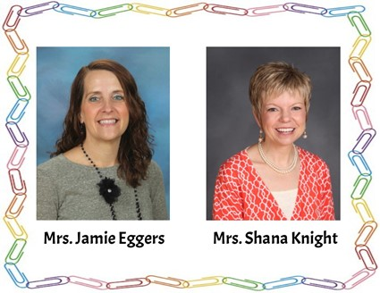 Pictures of Mrs. Eggers and Mrs. Knight