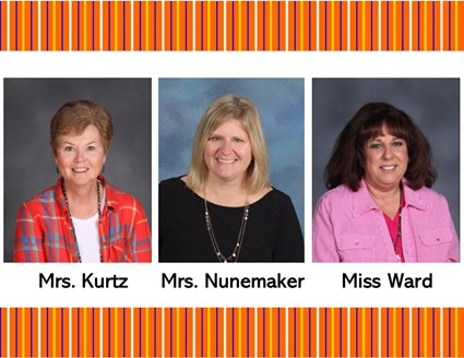 Pictures of Mrs. Kurtz, Mrs. Nunemaker, and Miss Ward