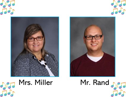 Picture of Mrs. Miller and Mr. Rand
