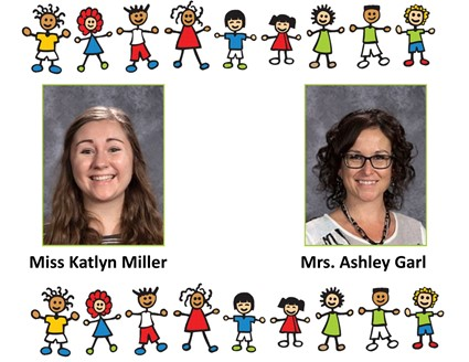 Picture of Miss Miller and Mrs. Garl